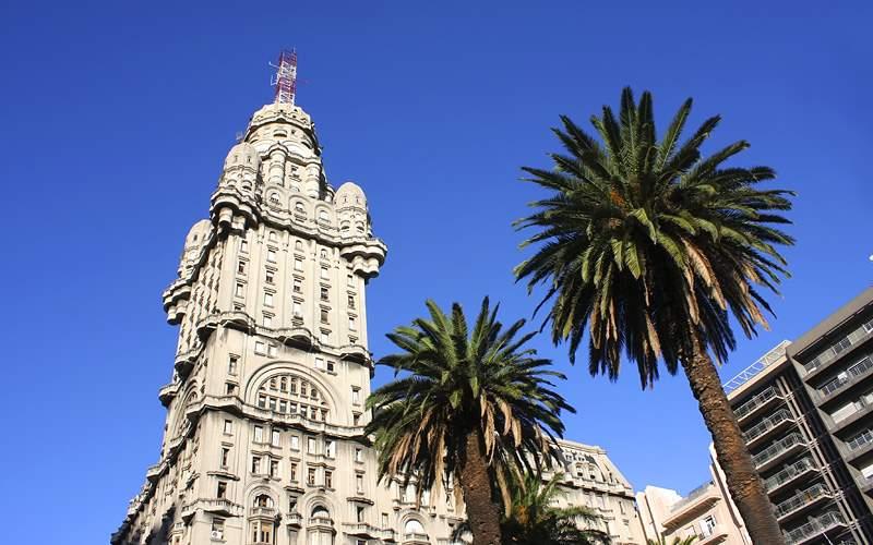 Palacio Salvo, Montevideo, Uruguay Holland America