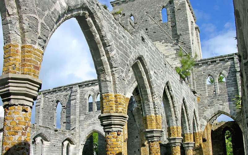 Church Structure St George Bermuda Holland America