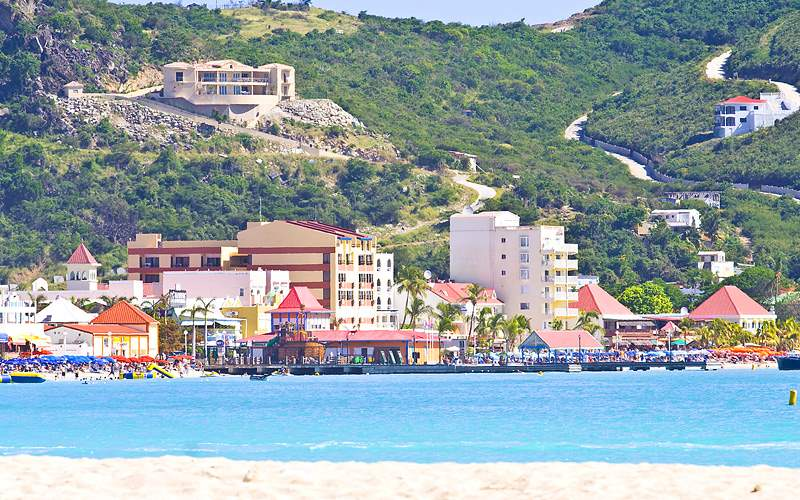 St Maarten Eastern Caribbean Holland America Line