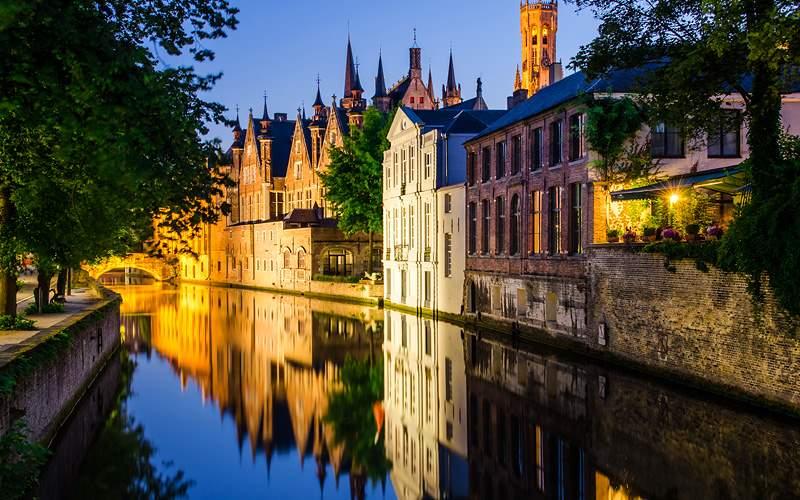 Bruges, Belgium Holland America World Cruise
