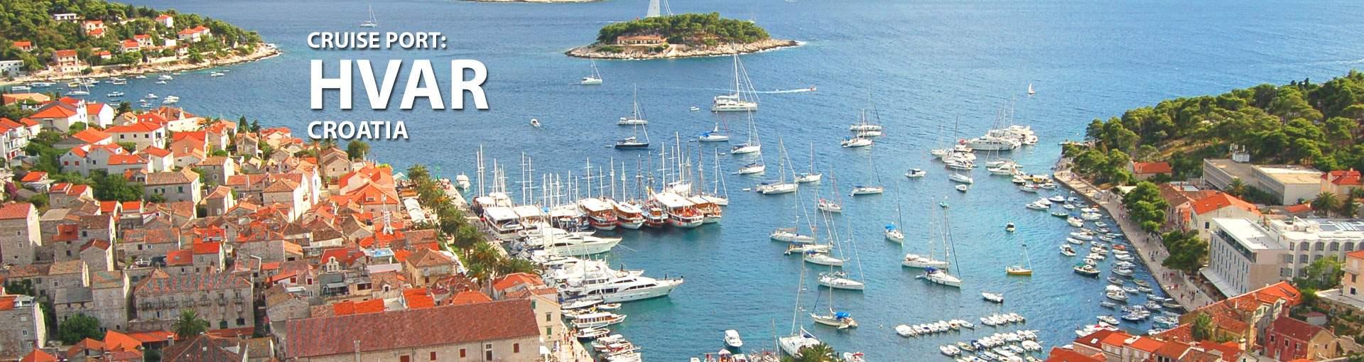 Cruises to Hvar, Croatia