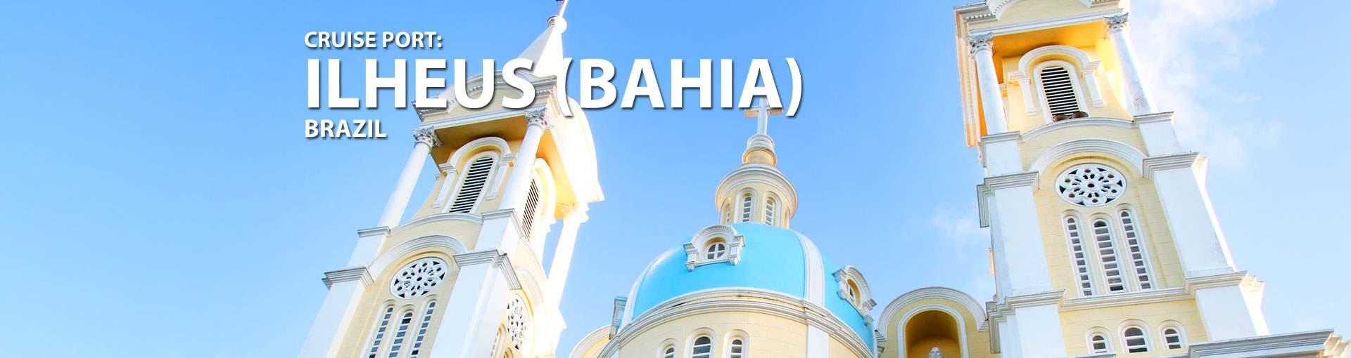 Cruises to Ilheus(Bahia), Brazil