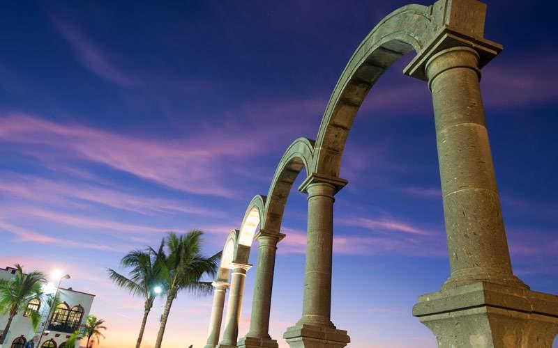 Los Arcos in Puerto Vallarta, Mexico