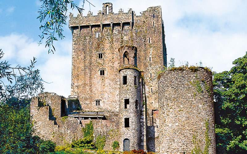 Blarney Castle in Cork, Ireland