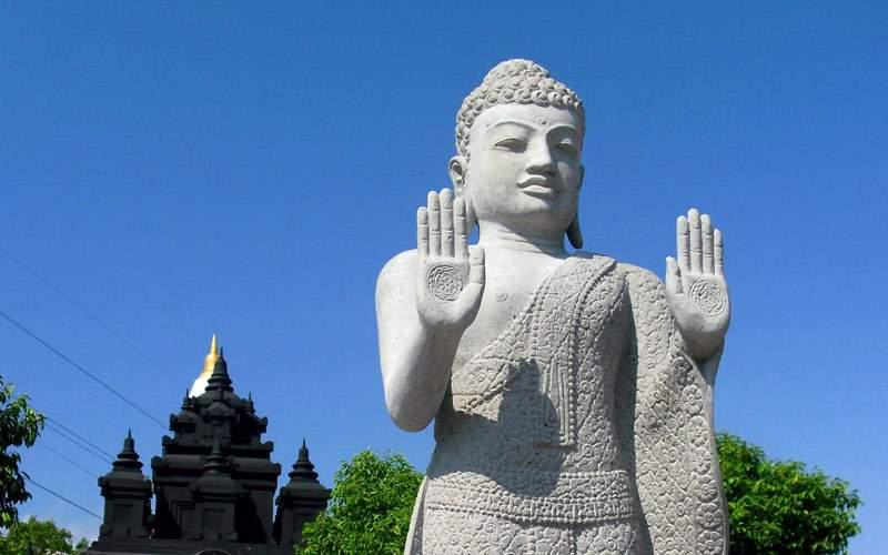 Patung buddha in Bali, Indonesia