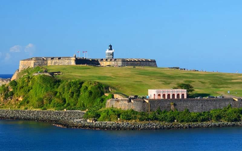 San Felipe Del Morro in San Juan Puerto, Rico