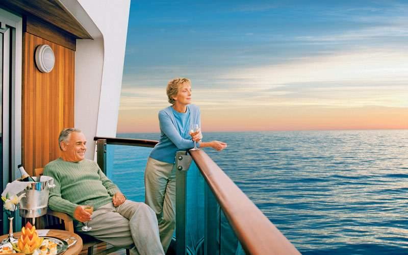 Couple on their balcony