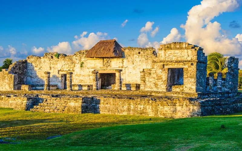 Mayan Ruins of Tulum on the Yucatan Peninsula