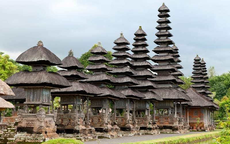 Bali Temple in Asia