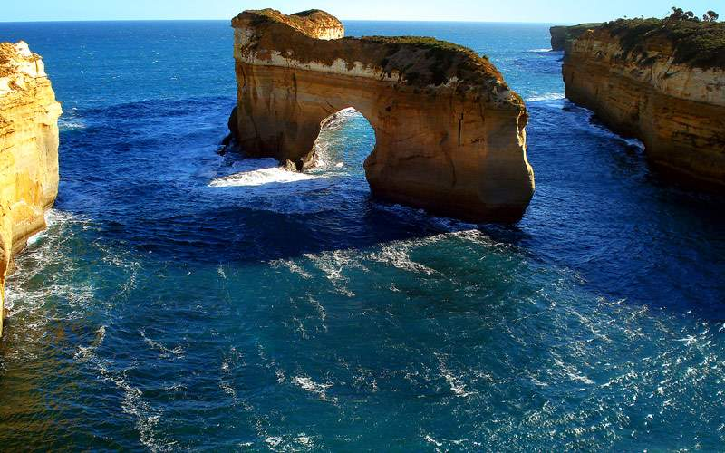 12 Apostles rock formation in Australia