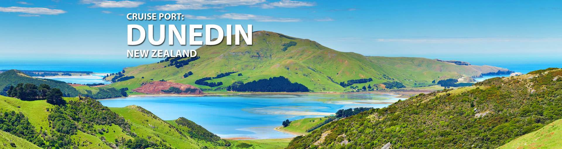Cruises from Dunedin, New Zealand