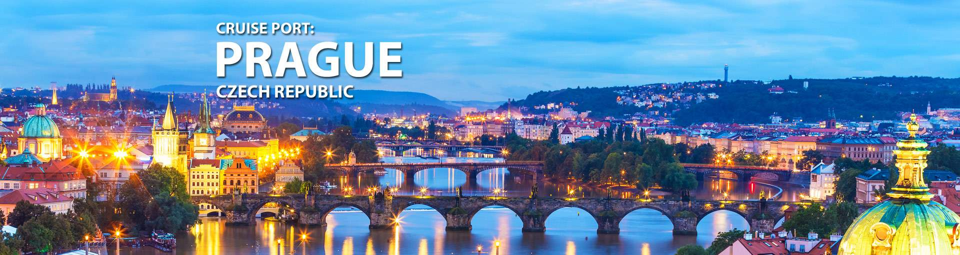 Cruises from Prague, Czech Republic