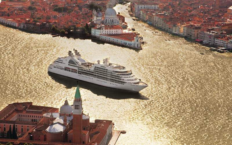 Seabourn Odyssey in Venice, Italy