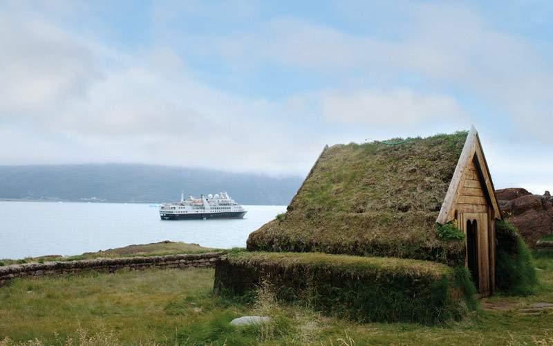 Silver Explorer cruising the Arctic