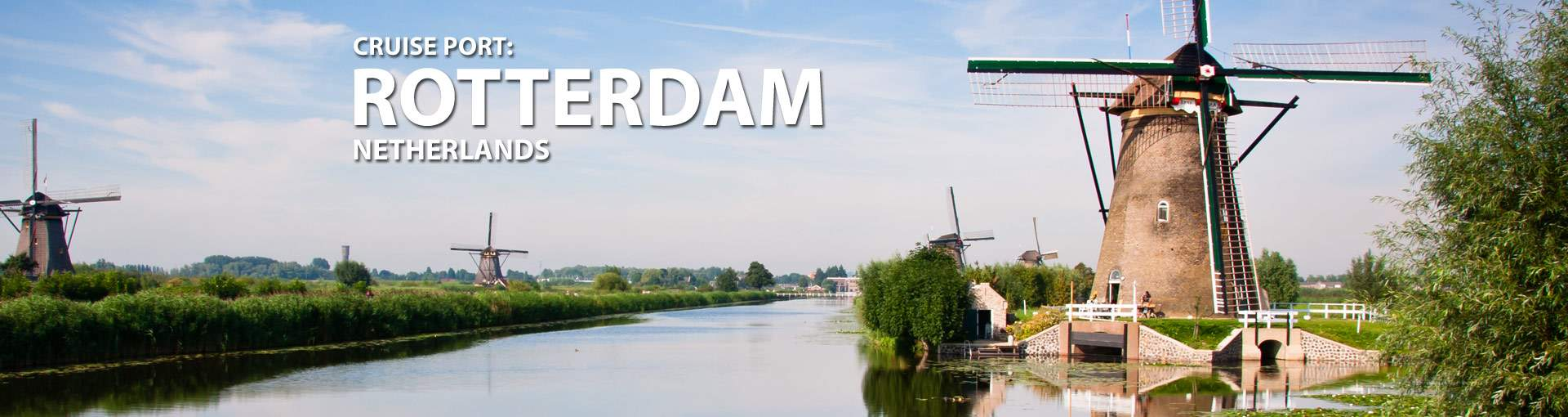 Cruises from Rotterdam, The Netherlands
