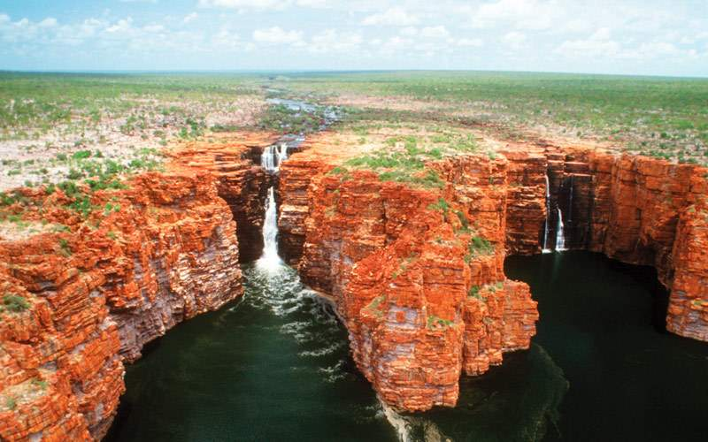 Kimberly Coast Waterfall in Australia