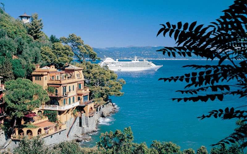 Mediterranean Coast of Portofino, Italy