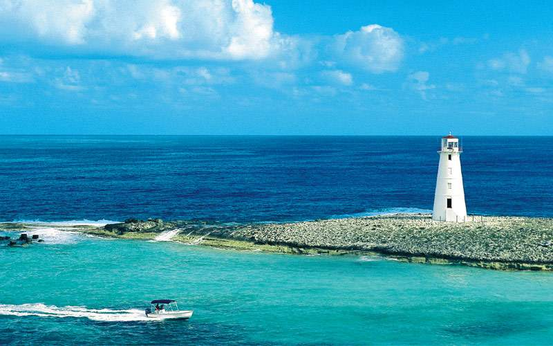 Lighthouse in Nassau, Bahamas