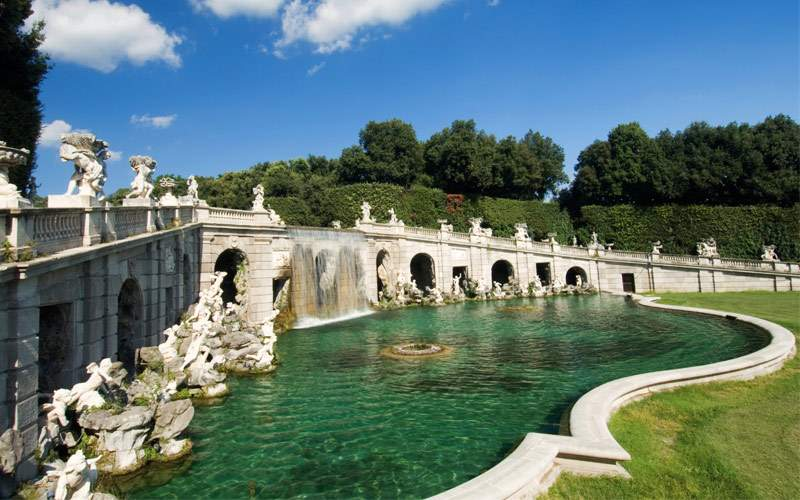 Caserta Palace in Caserta, Italy