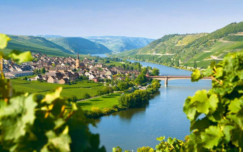 Moselle Valley river cruise in Germany