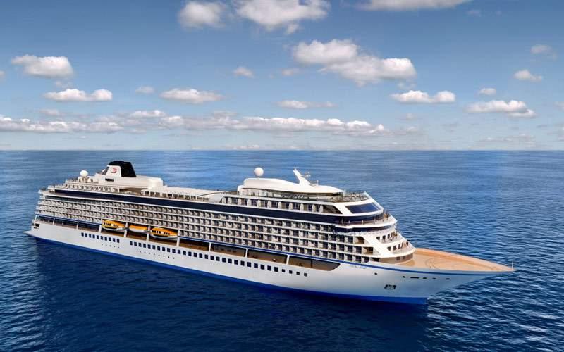Viking Star Sailing the open ocean