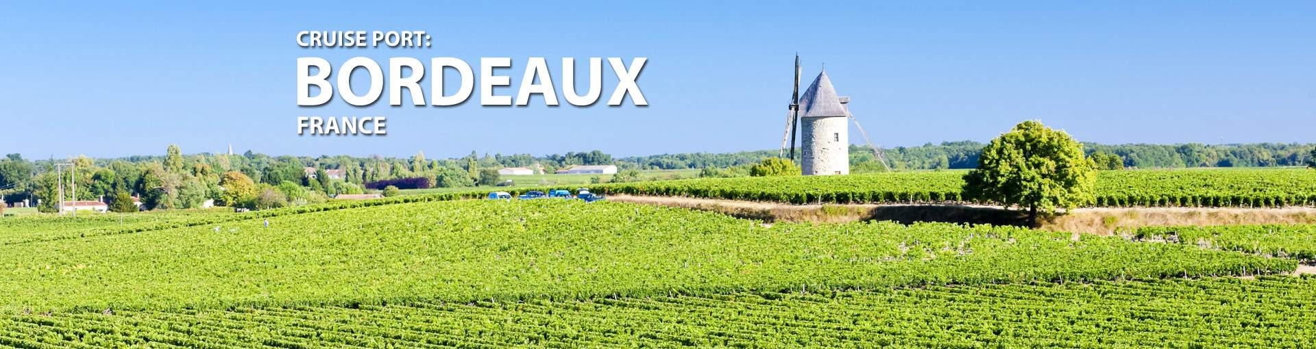 Cruises from Bordeaux, France
