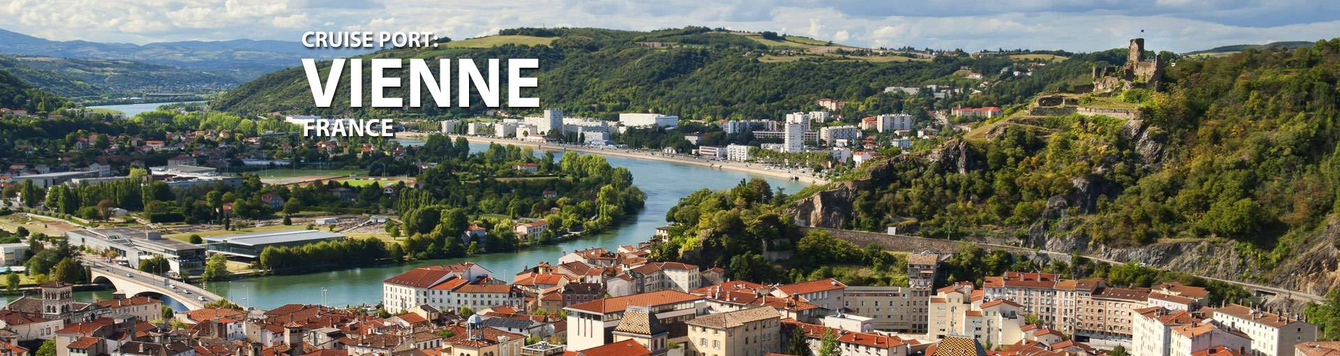 Cruises from Vienne, France