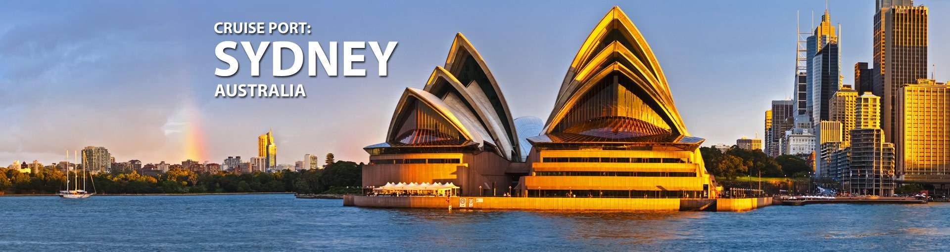 Cruises from Sydney, Australia