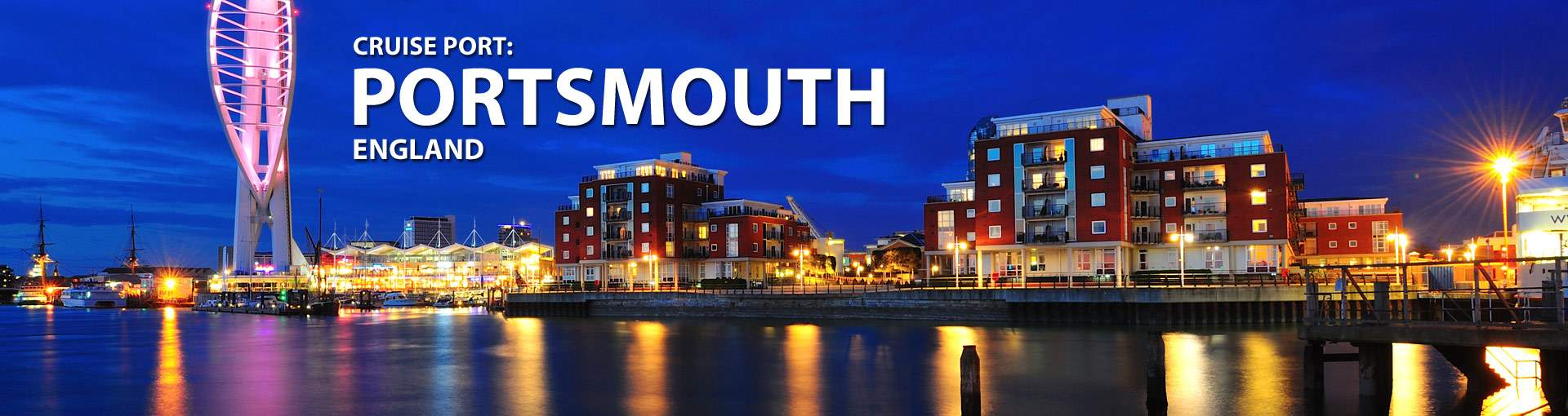 Cruises from Portsmouth, England