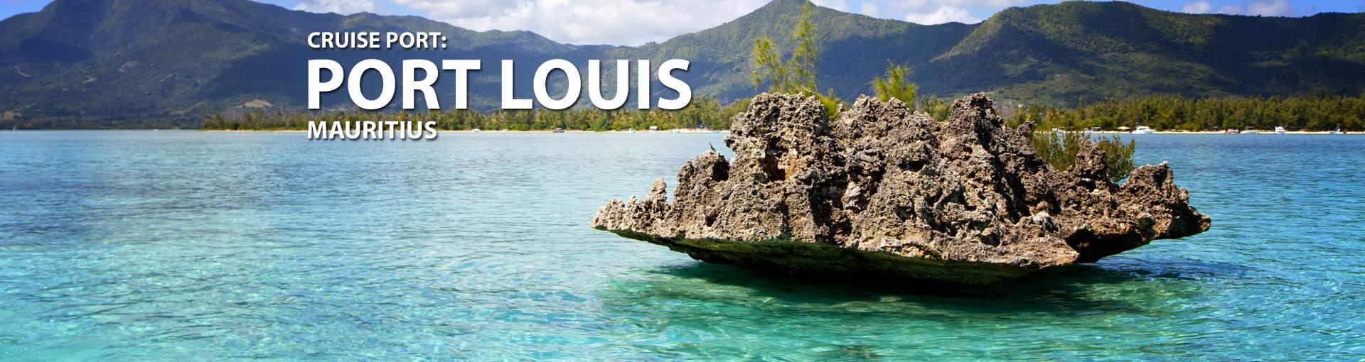 Cruises from Port Louis, Mauritius