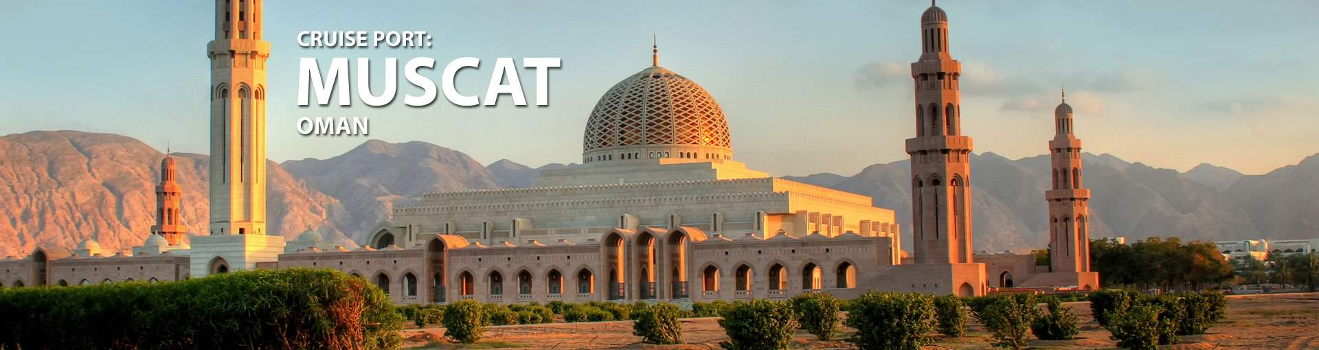 Cruises from Muscat, Oman