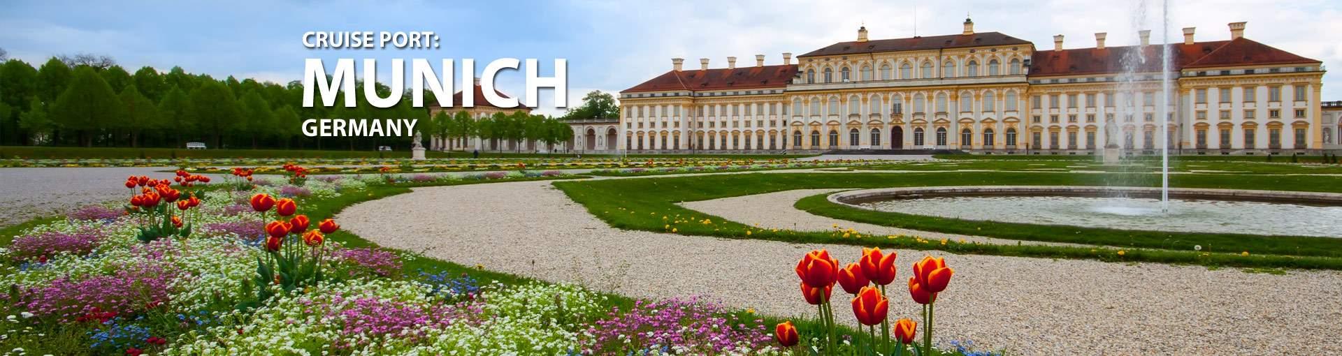 Cruises from Munich, Germany
