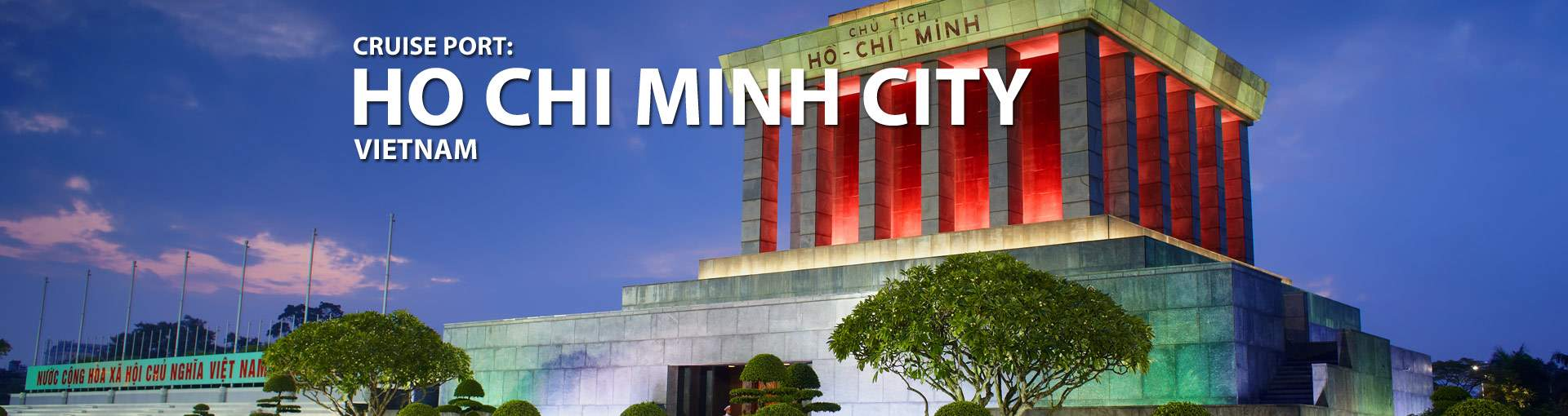 Cruises from Ho Chi Minh City, Saigon, Vietnam