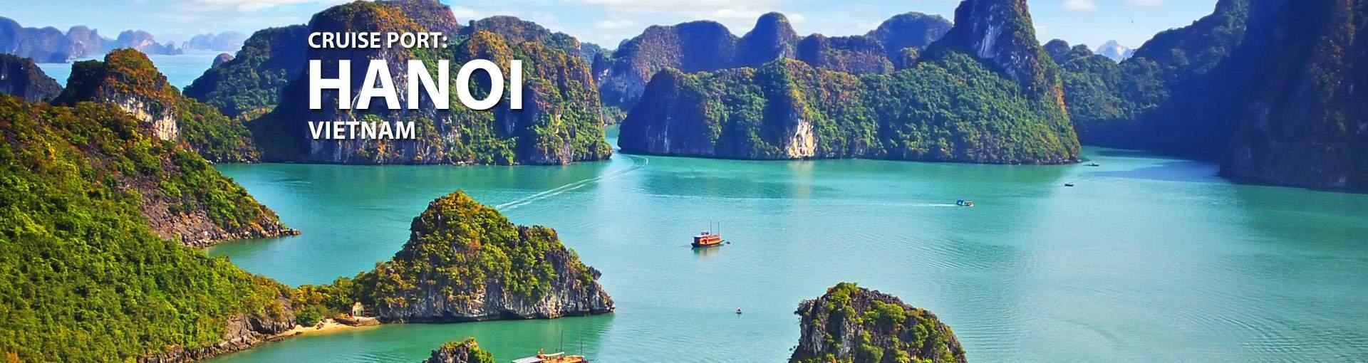 Cruises from Hanoi, Vietnam