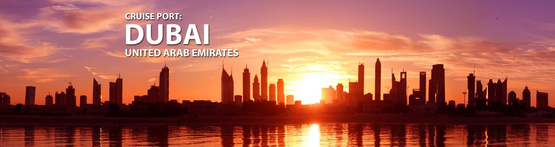 Cruises from Dubai, United Arab Emirates