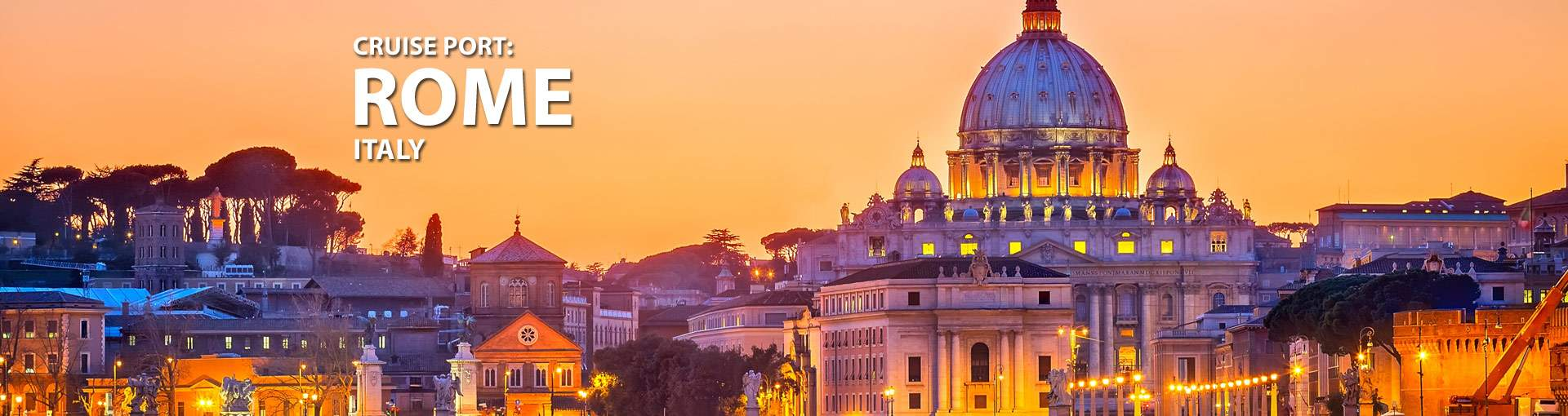 Cruises from Civitavecchia, Rome, Italy