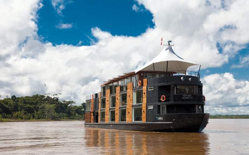 Avalon Aria on the Amazon river cruise