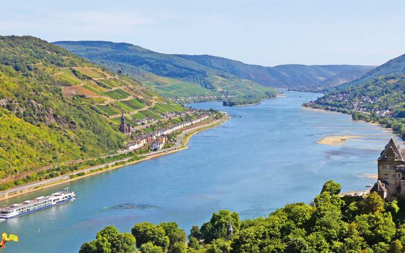 Avalon Visionary cruises through Europe