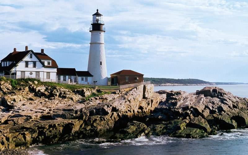 Head lighthouse in Cape Elizabeth