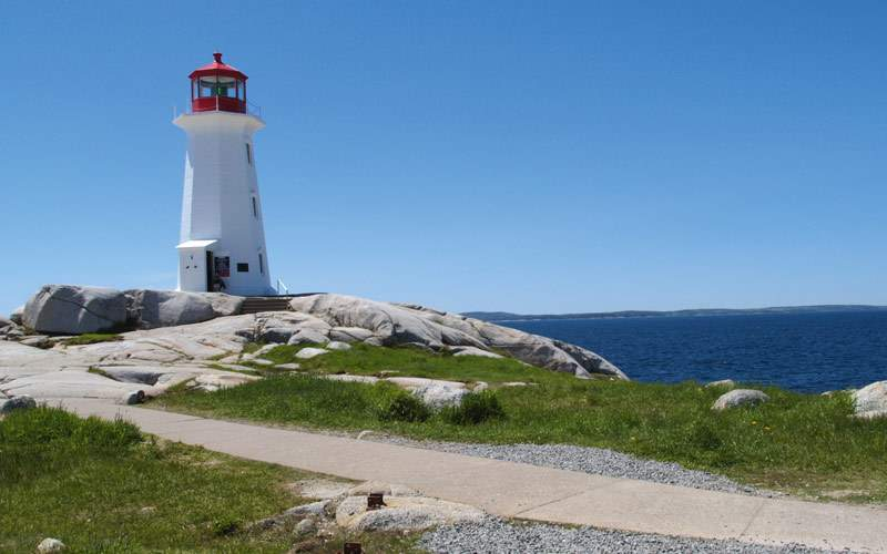 Lighthouse at Peggy