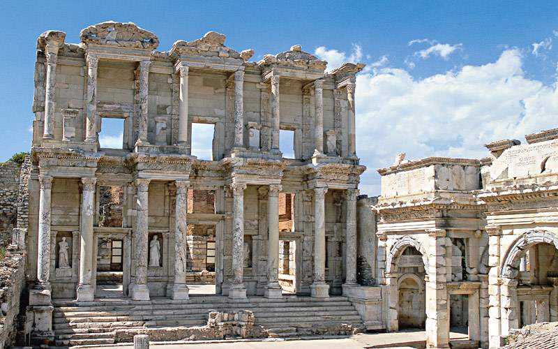 Ephesus Shrine in Western Turkey