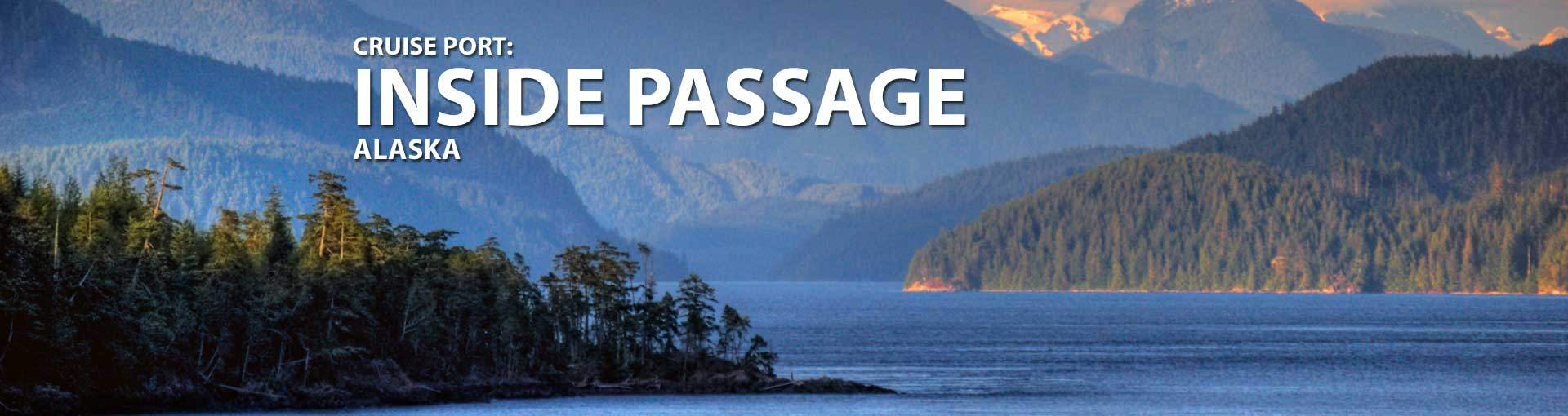Cruises to Inside Passage, Alaska