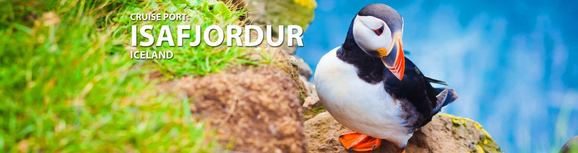 Cruises to Isafjordur, Iceland