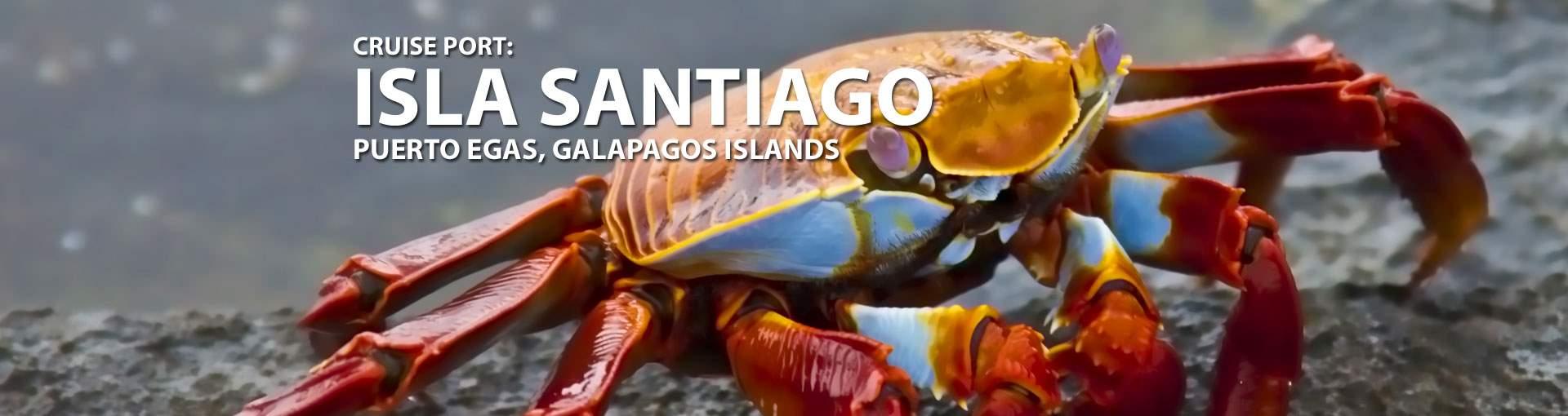 Cruises to Isla Santiago, Galapagos Islands