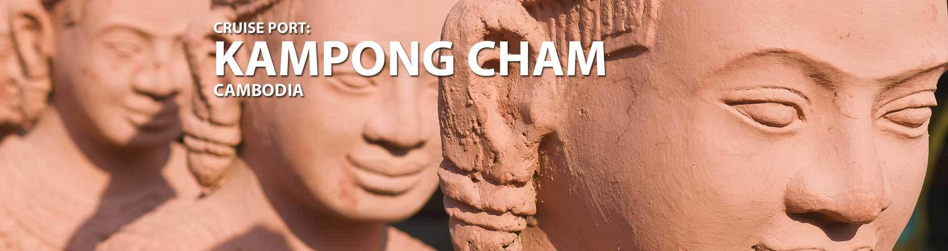 Cruises to Kampong Cham, Cambodia