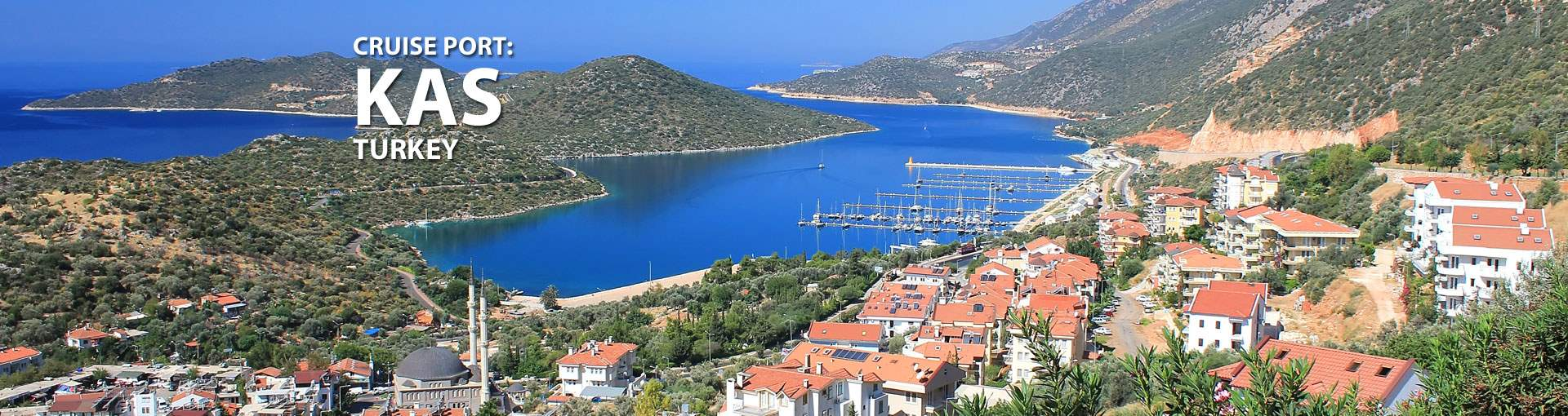 Cruises to Kas, Turkey