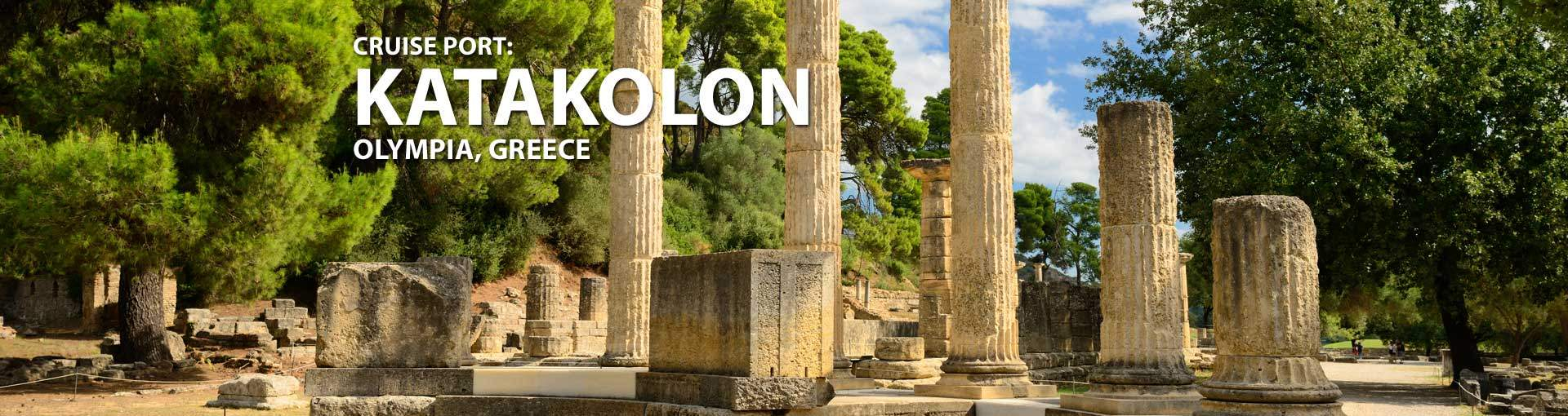 Cruises to Katakolon, Olympia, Greece