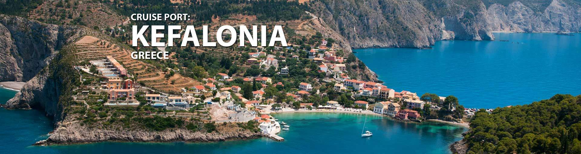 Cruises to Kefalonia, Greece