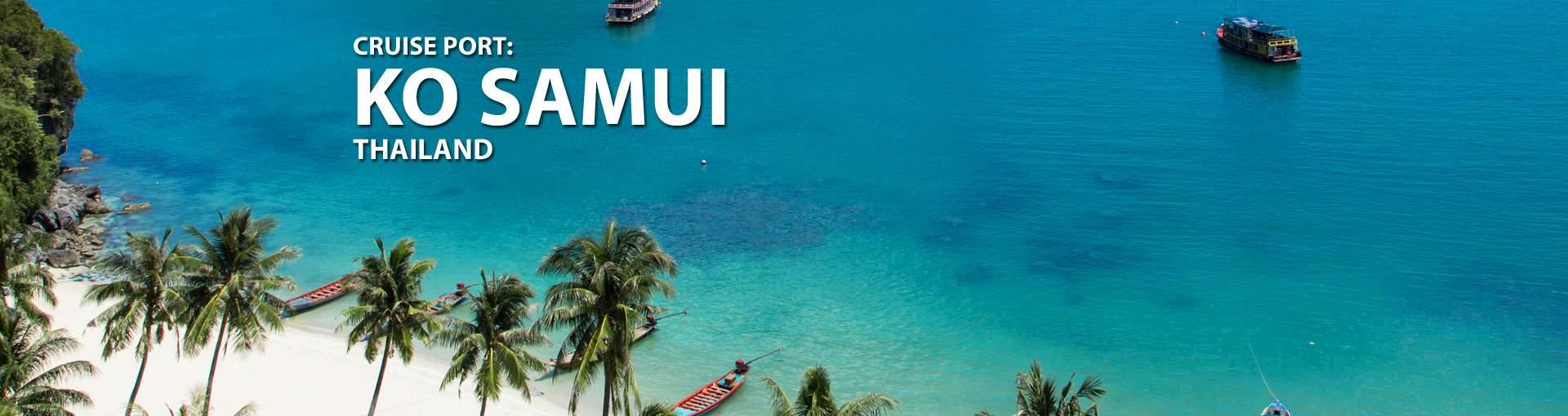 Cruises to Ko Samui, Thailand