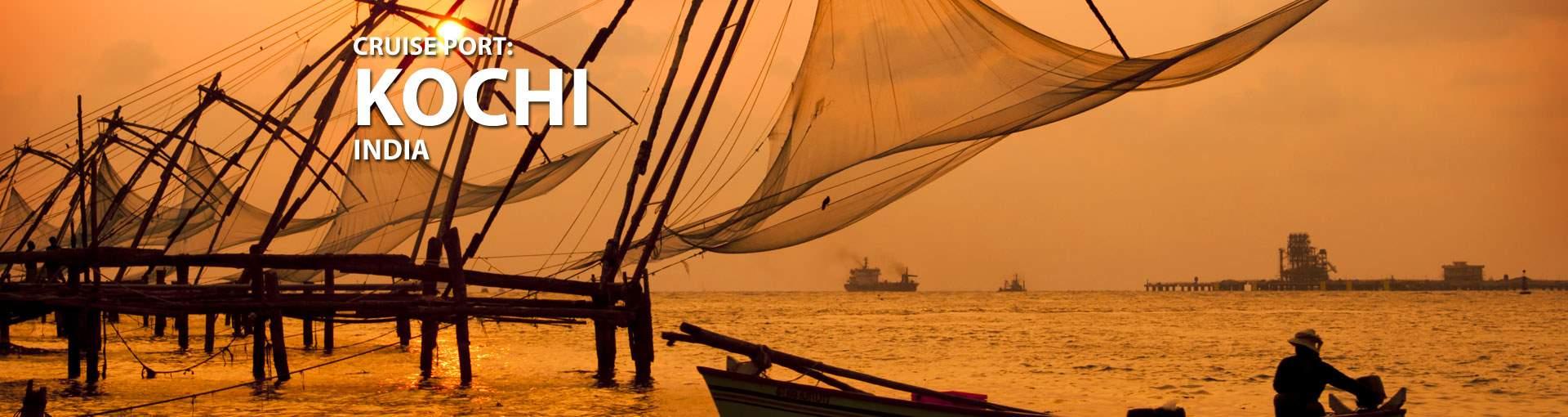 Cruises to Kochi, India